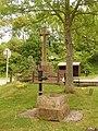 Piddlehinton, pump and war memorial - geograph.org.uk - 1343353.jpg