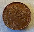 Piefort, France, 10 centimes, 1848 - Bode-Museum - DSC02609.JPG