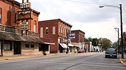 Pierceton downtown.