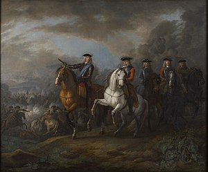 William Cadogan, 1st Earl Cadogan - Marlborough and Cadogan at the Battle of Blenheim by Pieter van Bloemen