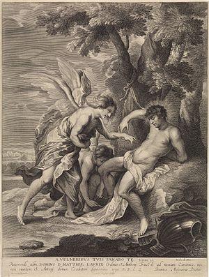 Pieter van Schuppen - Image: Pieter van Schuppen St Sebastian