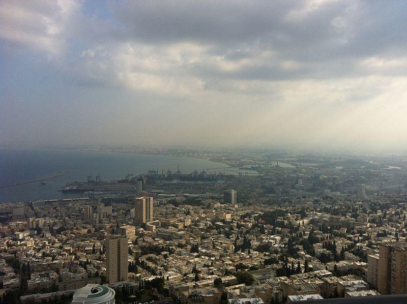 תצפית על מפרץ חיפה