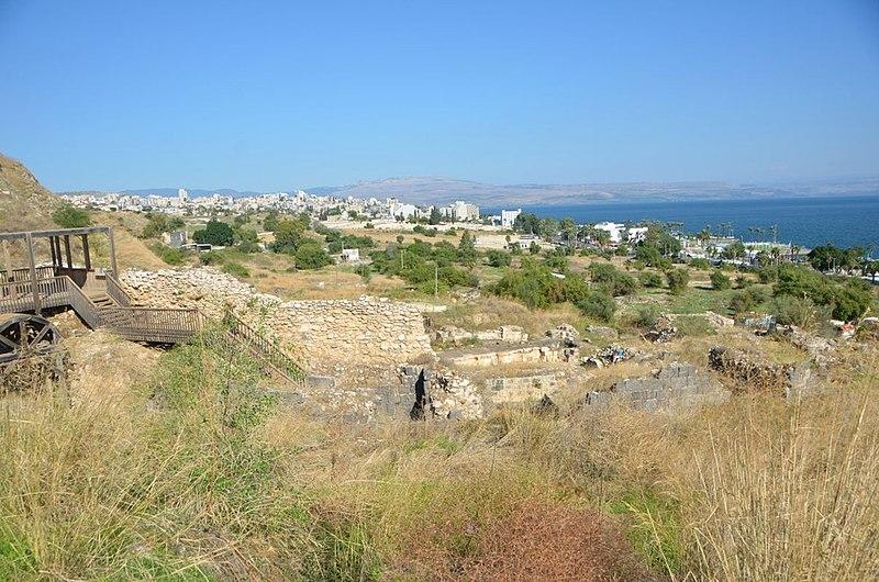 מרחב שטח העיר הרומית העתיקה