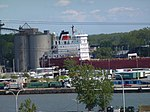 Pineglen and another freighter, moored in Toronto, 2013 06 03 B (5).JPG