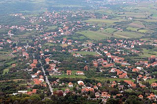 Pinosava Town in Belgrade, Serbia