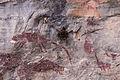 Pintura rupestre no Parque Estadual Cerca Grande.jpg