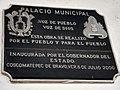 Placa en Palacio Municipal de Coscomatepec, Veracruz.jpg