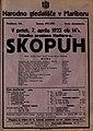 Plakat za predstavo Skopuh v Narodnem gledališču v Mariboru 7. aprila 1922.jpg