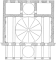 Plan of the chapel of the Pazzi (Character of Renaissance Architecture).png