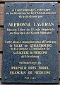 Plaque Alphonse Laveran à Strasbourg.jpg