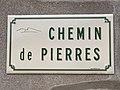 Plaque Chemin Pierres - Solutré-Pouilly (FR71) - 2021-03-02 - 1.jpg