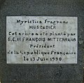 Plaque François Mitterrand - Jardin de Pamplemousses.jpg