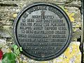 Plaque at St Budeaux Church, Plymouth. - geograph.org.uk - 914866.jpg