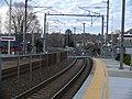 Platforms at Mystic station, April 2012.jpg
