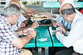 Playing cards in Nicosia, Cyprus (8132813766).jpg