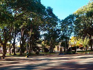 San Antonio, Canelones - The central square of San Antonio, Canelones.
