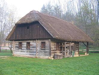 Log building - Image: Pleterje Baniceva hisa 1