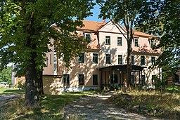 Hintere Dorfstraße in Rackwitz