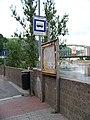 Podmokly, Labské nábřeží, zastávka Tyršův most.jpg