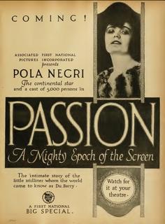 <i>Madame DuBarry</i> (1919 film) 1919 film