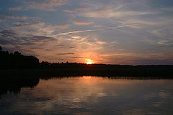 Poland Ros Lake sunset.jpg