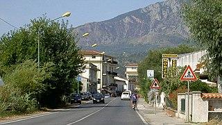 Frazione in Campania, Italy