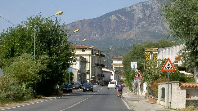 Skyline of Policastro Bussentino