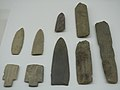 Polished stone daggers from Yoshinogari Site.jpg