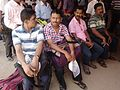Polling Personnel waiting for Group Members - DCRC - Barasat - North 24 Parganas 2016-04-24 02031.jpg