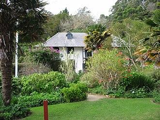 Jean Baptiste Pompallier - Pompallier House and gardens.