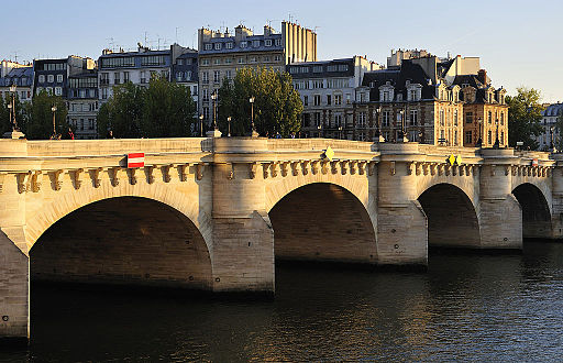 Pont Neuf, Paris 16 October 2011