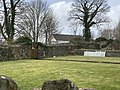 Pontllanfraith - Garden Wall at Penllwyn - 20210406131604.jpg