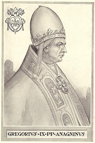 Pope Gregory IX - Image: Pope Gregory IX