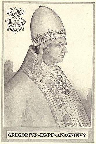 Pope Gregory IX - Image: Pope Gregory IX