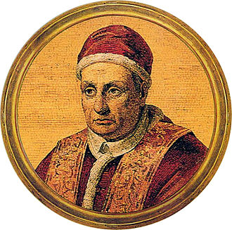 Pope Benedict XIII - Icon of Benedict XIII in the Basilica of St. Paul outside the Walls