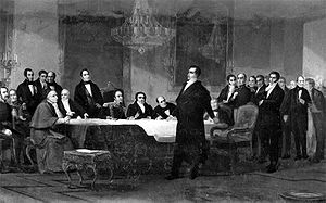 Chilean expansionism - Portales convinced the Chilean elite to fight for the dissolution of the union between Bolivia and Peru in 1836.