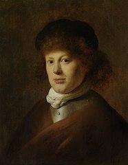 Portrait of Rembrandt Harmensz van Rijn