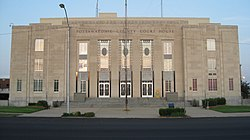 Pottawatomie County Courthouse in Shawnee, Oklahoma