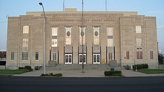 Shawnee, Oklahoma - Pottawatomie County Courthouse