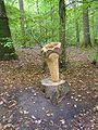Poudrerie nationale de Sevran-Livry - Sculpture en bois.jpg