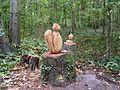 Poudrerie nationale de Sevran-Livry - Sculpture en bois 2.jpg