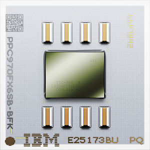PowerPC 970 - Image: Power PC 970FX