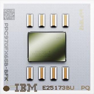 PowerPC 970 - Image: Power PC 970FX