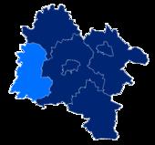 Powiat strzeliński granice gmin i miast Kondratowice.png