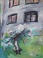 Pražský dvorek, 1985, olej na plátně, 95x70 cm.jpg