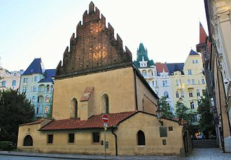 Old New Synagogue - View from the west