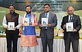 Prakash Javadekar releasing the book 'State at a Glance Jammu & Kashmir', at the National Interaction-cum-evaluation workshop for Environmental Information System (ENVIS) centres, in New Delhi.jpg