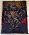 Prato, spirito santo, int., cappellina, pala con trinità, di ambito toscano del XVII sec.JPG