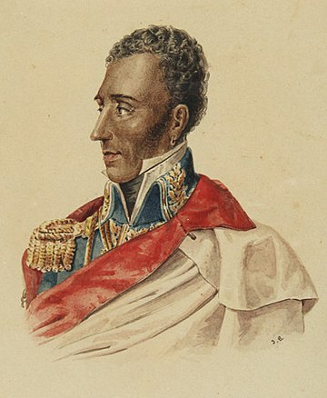 Jean-Pierre Boyer, the ruler of Haiti President Jean-Pierre Boyer of Haiti (Hispaniola Unification Regime) Portrait.jpg