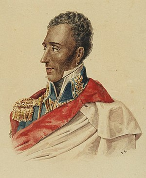 President Jean-Pierre Boyer of Haiti (Hispaniola Unification Regime) Portrait